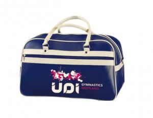 Retrosporttas met UDI-logo